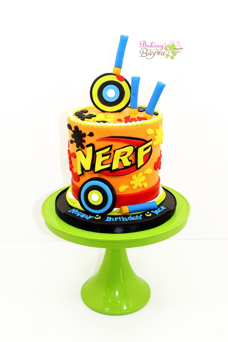 best 25 nerf gun cake ideas on pinterest boys birthday party