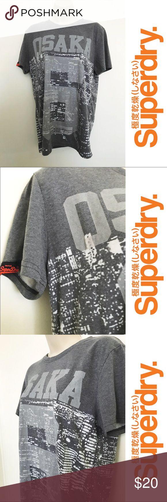 Superdry Osaka Tshirt - Medium Amazing quality Tshirt from Superdry - size medium - like new Superdry Tops
