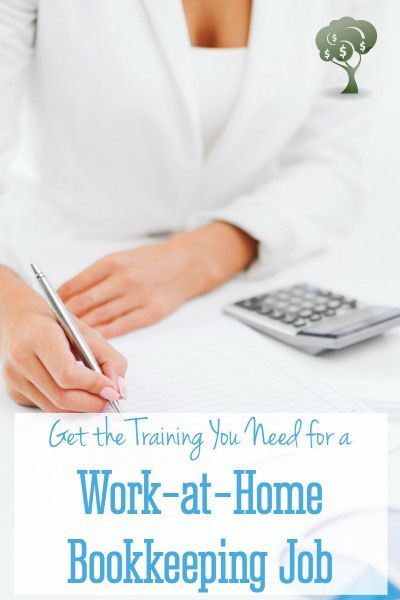 Work at Home with a Virtual Bookkeeping Job