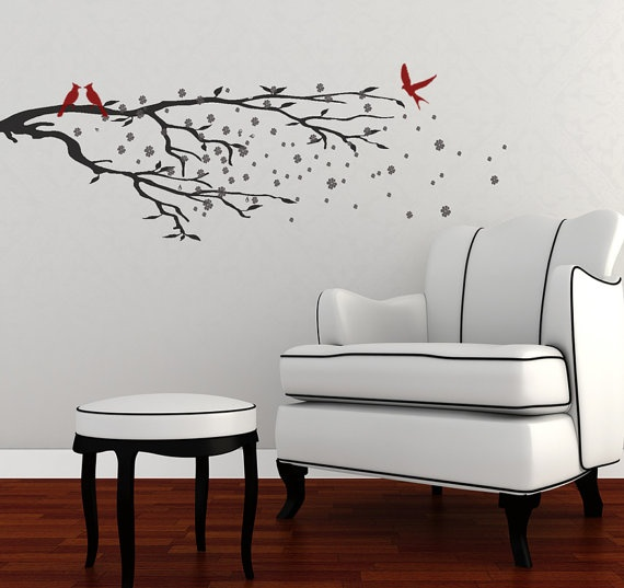 Ide Terbaik Tentang Asian Wall Decals Di Pinterest Vinyl Decor - Japanese wall decals