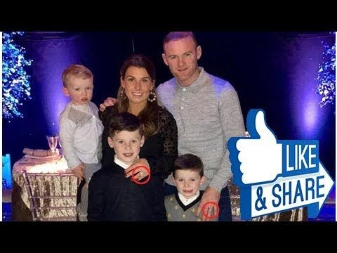 Pregnant Coleen Rooney and husband Wayne are seen together for first time in MONTHS as they put on