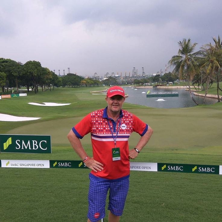 Not quite a pro am day selfie. Ready for the off tomorrow