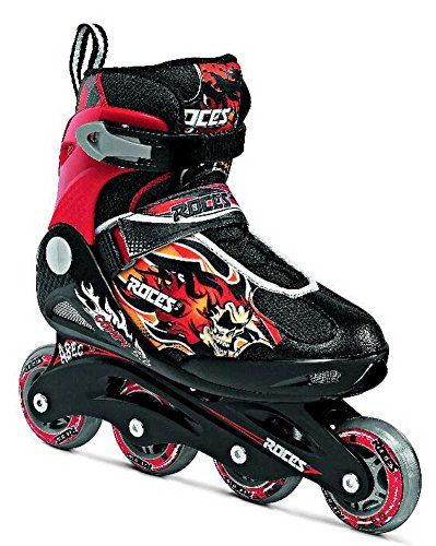 Roces Compy 50 Boys Inline Skates Black Red 2545 -- You can get additional details at the image link. This is an Amazon Affiliate links.