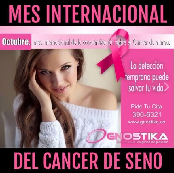 Prevención CÁNCER de SENO. Diagnóstico en Mamografía, Resonancia Magnetica y Ecografía. Citas al 390-6321 #cancer https://goo.gl/ocGHx0