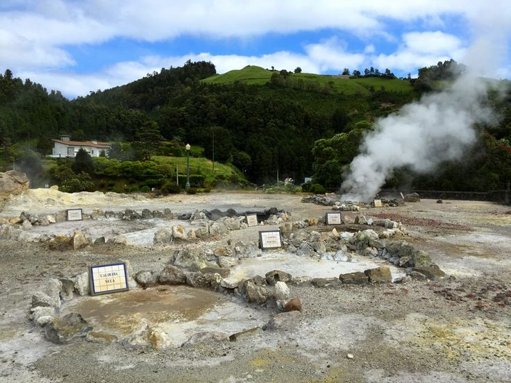 4 day itinerary Sao Miguel - volcano hot springs