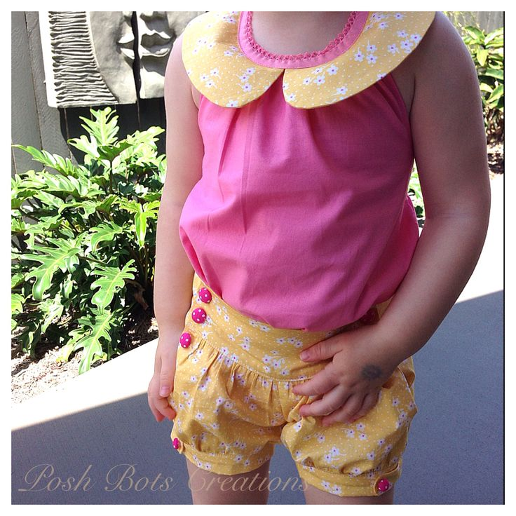 Just love these! Bubble shorts & darling top