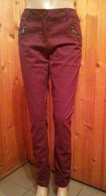 George spodnie proste nogawki z zipami 42 XL