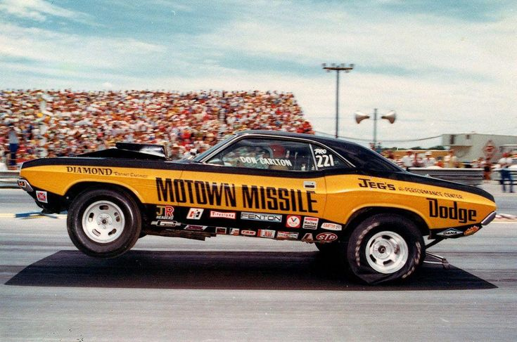 Vintage Drag Racing Pro Stock Don Carlton and the