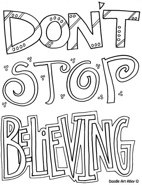 22 best Doodle sayings, words images on Pinterest