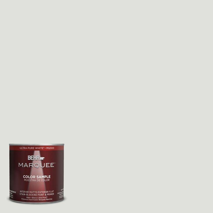 behr marquee 8 oz mq345 looking glass paint sample