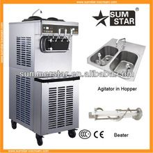 New design !industrial ice cream makers S970 with agitator/commercial soft serve ice cream machine/ice cream machine manufacture