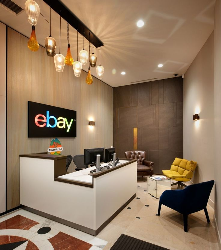 Cool, Quirky Fixtures In This Small But Perfectly Formed Reception Area For  Ebay By Our