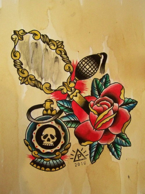 250 best tattoo old school roses images on pinterest