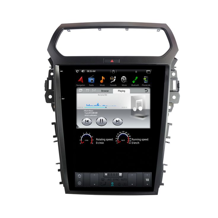 NAVITOPIA 12.1inch 2G+32G Vertical Screen Android 6.0 Car Multimedia Player For Ford Explorer 2013 2014 2015 2016 2017 GPS //Price: $1044.89 & FREE Shipping //     #dashcam
