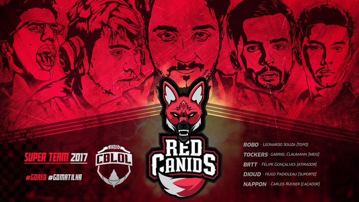 Team RED CANIDS - CBLOL 2017 on Behance