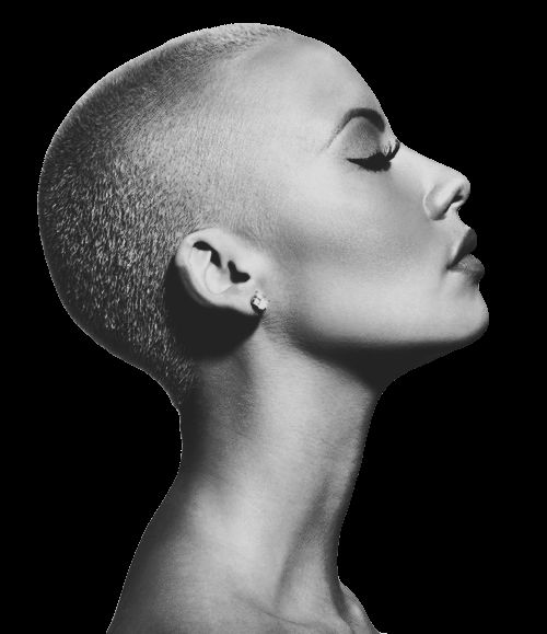 Amber Rose. Love this look