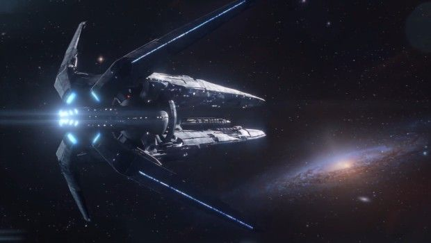 Shepard signs off in Mass Effect Andromeda teaser
