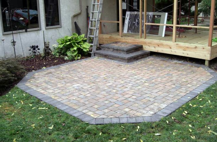 64 Best Brick Paver Patio Designs Images On Pinterest