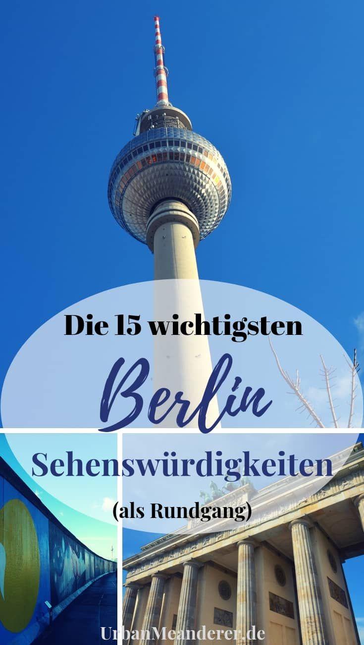 Berlin an einem Tag: Die perfekte Berlin Sehenswürdigkeiten Route