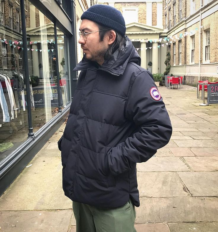 We've just had a new colour in the 'Macmillan' down parka from @canadagoose. The navy Macmillan is available in store now in sizes S - XL priced 750. Online soon.  #canadagoose #downjacket #downparka #parka #macmillan #technical #outerwear #winteriscoming #style #styleoftheday #menswear #mensfashion #mensstyle #philipbrownemenswear