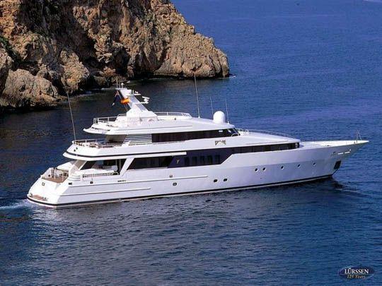 Small Yachts | Lürssen Yacht - BE MINE 40.35m built 1991 - Lurssen Yacht ...