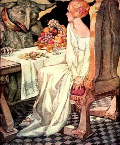 Fairy Tale Illustrations | SurLaLune Fairy Tales: Illustrations of Beauty and the Beast