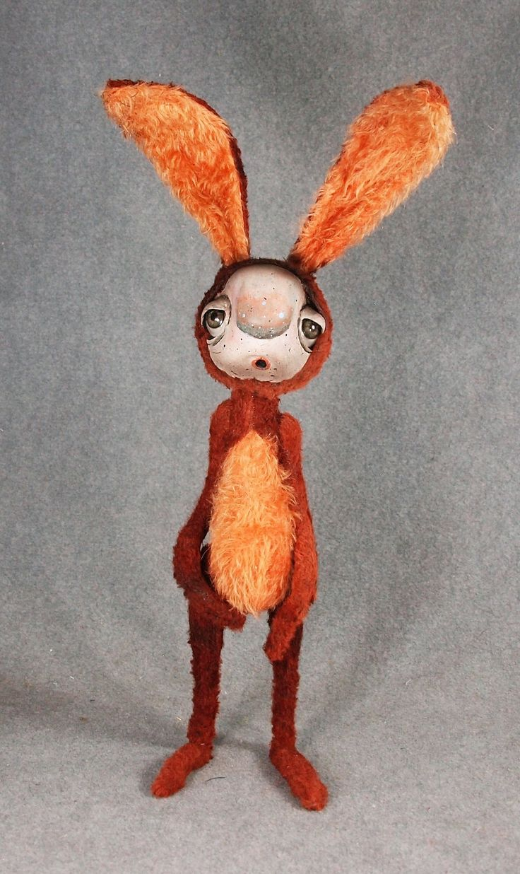 Rabbit Art Doll, 16""