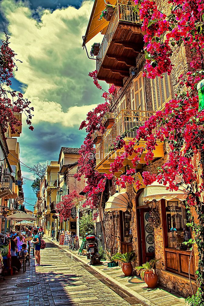 Greece. Town of Nafplio.