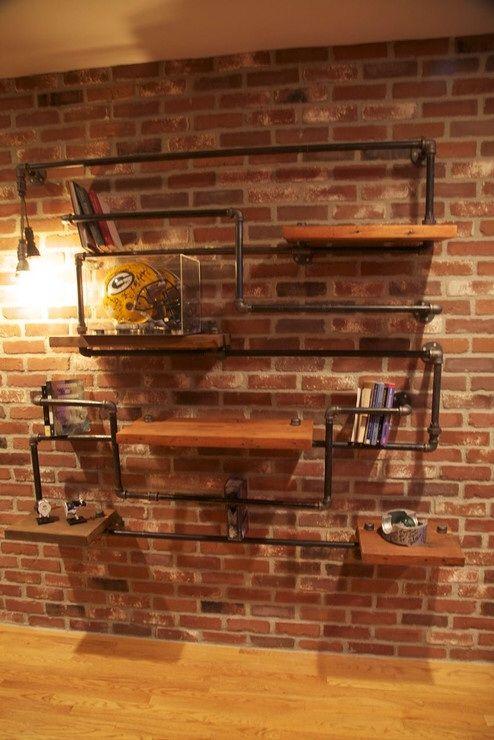 sobre Muebles De Tubo De Fontanería en Pinterest  Muebles de tubo