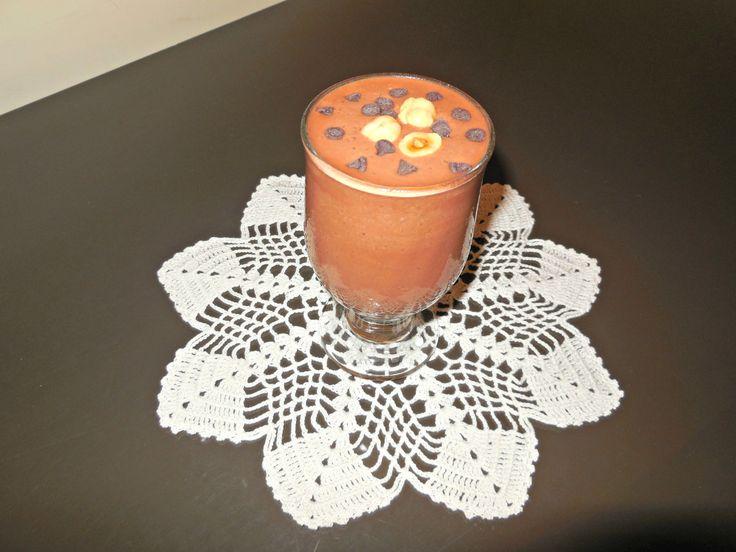 Frullato sano e goloso alle nocciole e cacao #smm16 #light #food #health #bio #vegan