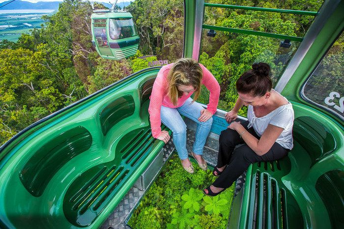 Kuranda Scenic Railway The original Kuranda Scenic Railway is a spectacular journey comprising unsurpassed views of dense rainforest, steep ravines and picturesque waterfall  #kuranda