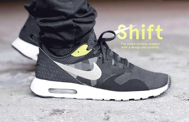 Buty zmieniające kolor