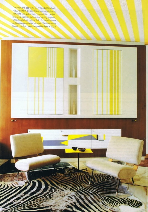 32 Best Images About Gio Ponti / Villa Planchart On