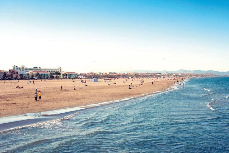 Playa de la Mavarrosa en Valencia