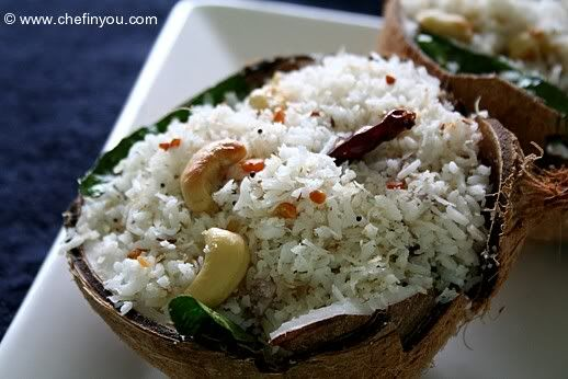 Easy South Indian Coconut Rice Recipe | How to make ...