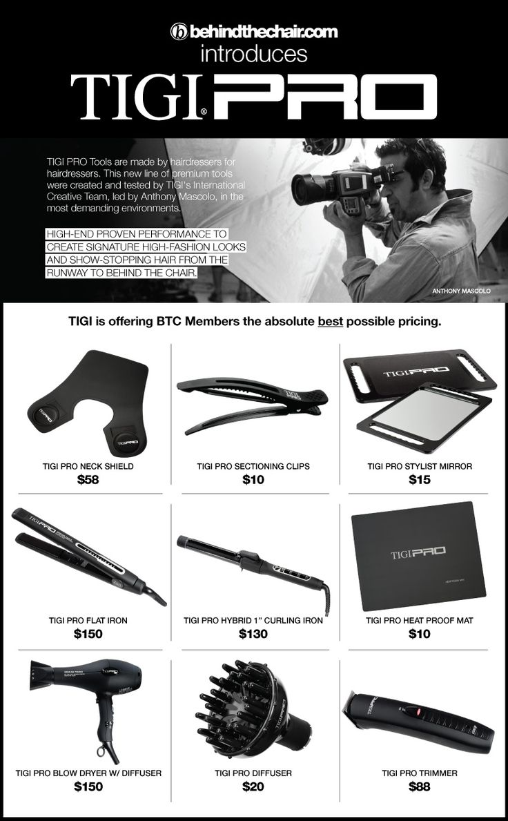 47 best tigi images on pinterest barbers hair stylists and btc introduces tigi pro tools accessories to our btc store including the legendary tigi neck nvjuhfo Choice Image