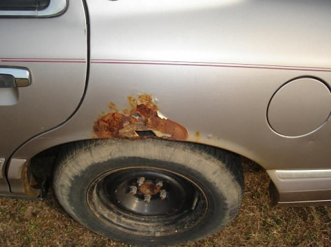 Ini Dia Area Favorit Pada Bodi Mobil Yang Muncul Karat - Vivaoto.com - Majalah Otomotif Online