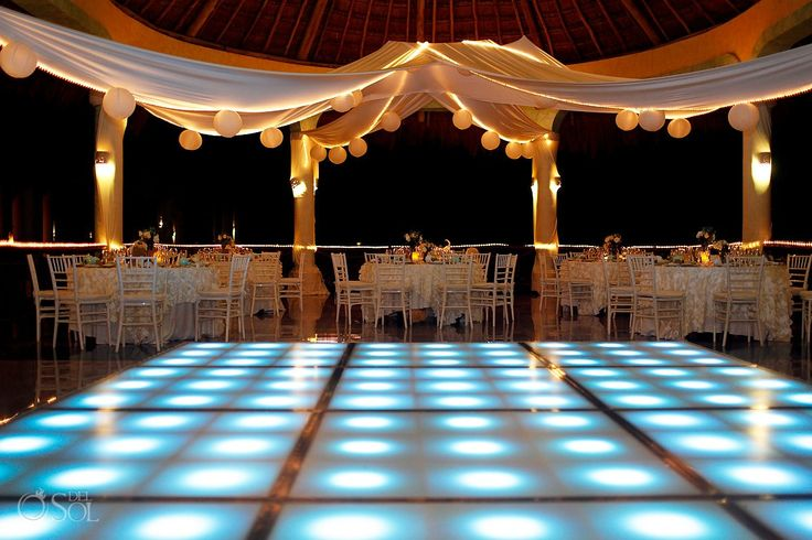 This Riviera Maya Wedding At The Grand Palladium Kantenah Was Full Of Life Color And Tradition Private Dinner Reception Laguna
