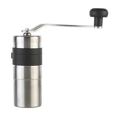 The Porlex Mini Coffee Grinder is made in Japan and has become known as a reliable grinder that has a sturdy stainless steel body and strong handle proving a smooth and consistent grind.
