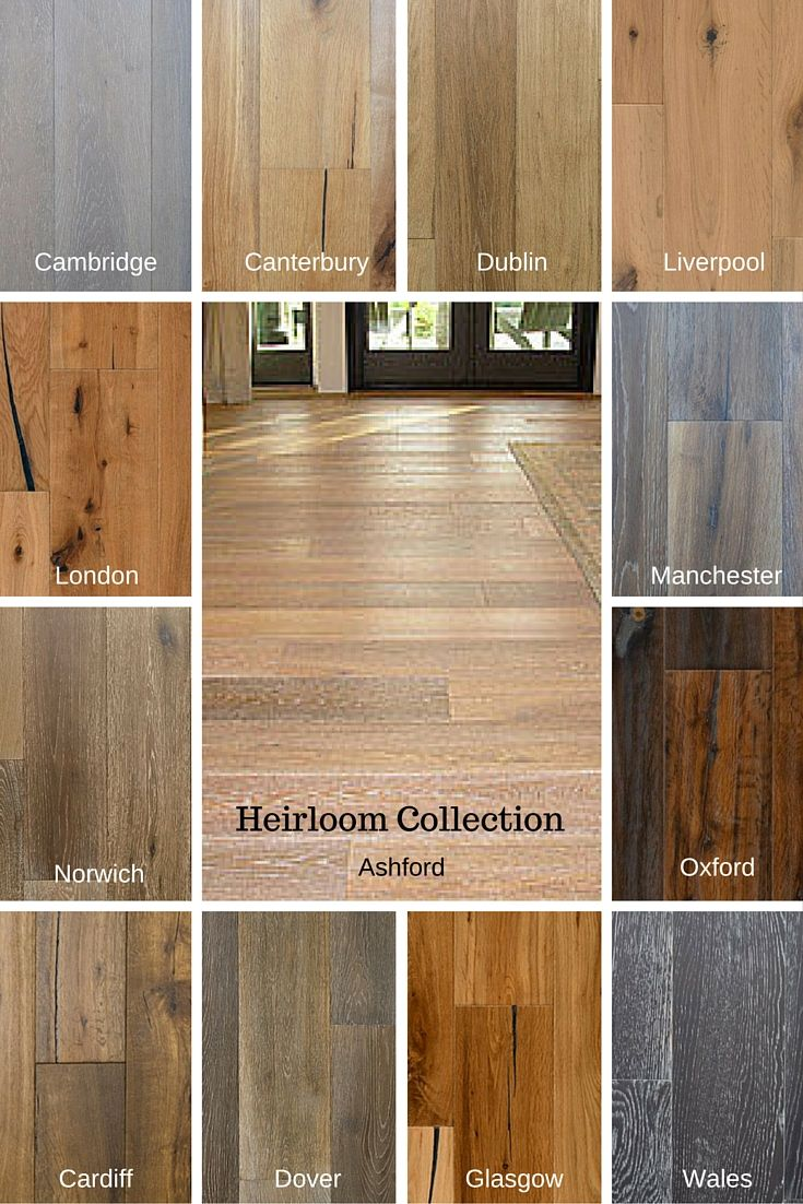 The heirloom Collection are wire brushed, hand scraped, hand distressed, carbonized and smoked floors with a naturally beautiful UV Cured Oil Finish.  Heirloom-Truly elegant hardwood floors for your home.  Character grading varies between colors from select to heavy character.