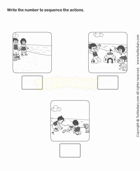 Kindergarten Story Sequence Worksheet Sequencing Worksheets Kindergarten Worksheets Story Sequencing Sequencing practice in kindergarten and
