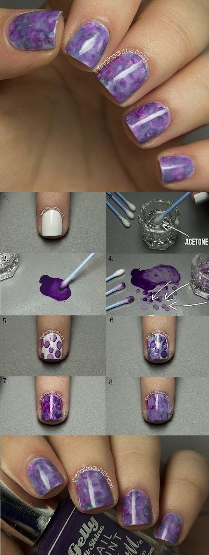 Amazing Nimbus Nail Art – DIY #nails #NailArt #NailDesigns