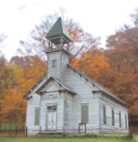 Aging Gracefully: Old Churches #2 - Something so comforting about this pic!