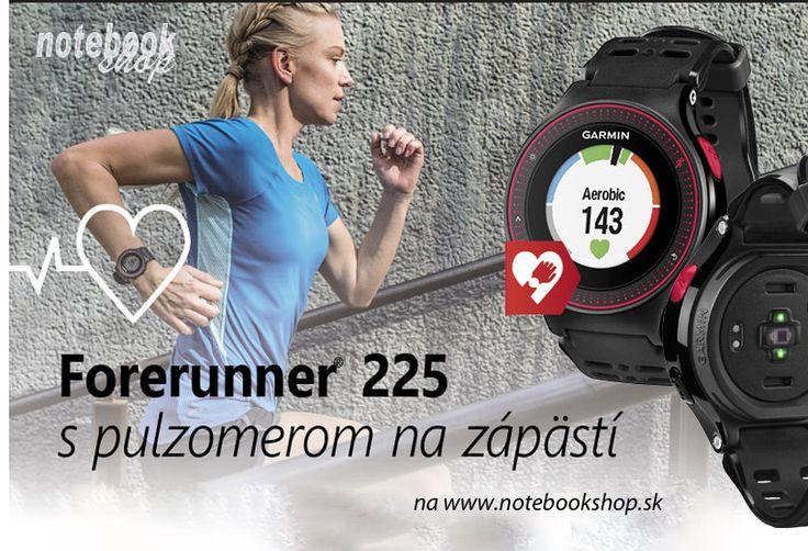 Garmin Forerunner 225 - Prvé športové hodinky od f. Garmin s meraním pulzu na zápästí.