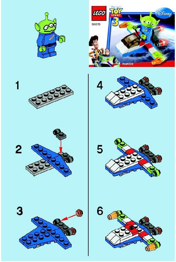 lego spaceship instructions easy - Google Search …