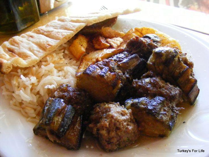 Aubergine Kebab, #Patnos, East Turkey