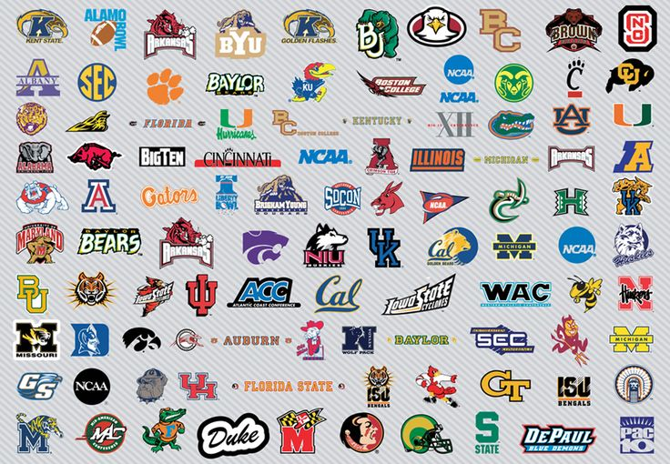 college logos clip art | NCAA Basketball Logos Pt1