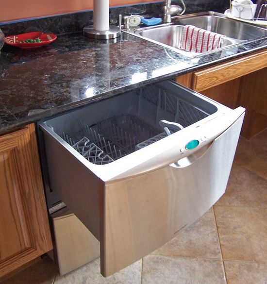Baby Boomer Kitchen Design Trends  An absolute must have, 2 of these drawer-style dishwashers on either side of the sink.