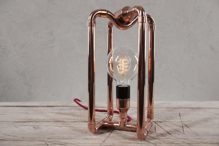 ZAPALGO - lampa miedziana KUBO