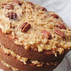Cubierta de nuez para pastel alemán @ allrecipes.com.mx                                                                                                                                                                                 Más